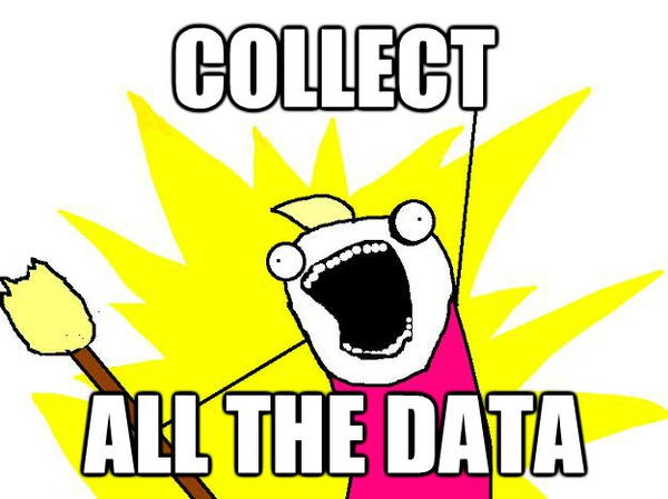 collect all the data